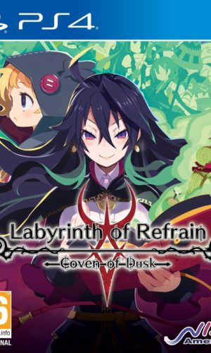 Labyrinth of Refrain Coven of Dusk PS4 Portada