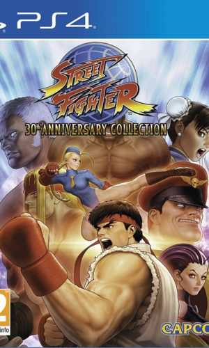 Street Fighter 30th Anniversary Collection PS4 Portada