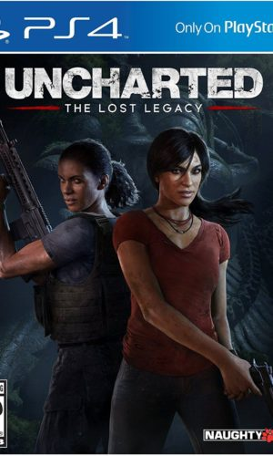 Uncharted The Lost Legacy PS4 Portada